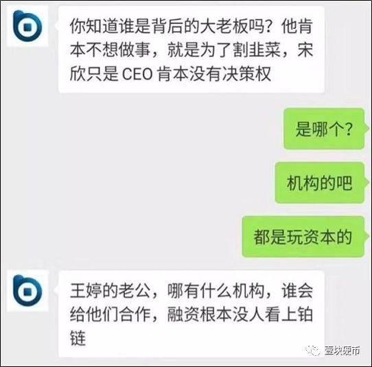 """实控人要挟解散团队,CEO被开除,""""铂链""""大户亏千万"""