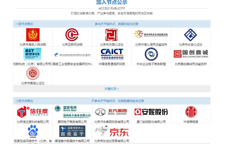 """北京互联网法院""""天平链""""实现跨链节点19个,存证数据量已达上亿条"""